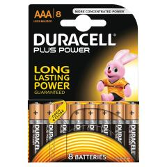 Duracell Plus Battery AAA Pack of 8 Image