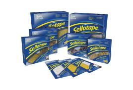 Sellotape Sticky Hook-and-Loop Pads 20 x 20mm (Pack of 24)