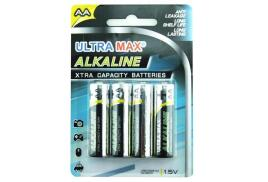 5 Star Value (AA) Alkaline Batteries [Pack of 4]