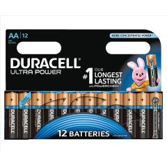 Duracell (AA) Ultra MX1500 Battery Alkaline 1.5V (Pack 12) with Duralock Image