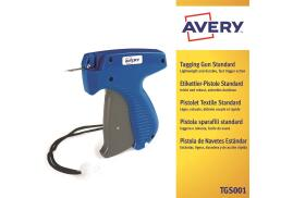 Avery TGS001 Standard Tagging Gun for Applying Plastic Fasteners to Products and Tickets