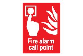Stewart Superior FF073SAV  Self Adhesive Sign (150x200mm) - Fire Alarm Call Point