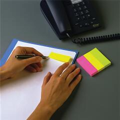 Post-It Post-it Note Markers (Yellow)/Pink/(Green) (3 x 100 Markers) Image
