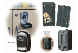 Phoenix Combination Lock Key Store Safe Box (Black)