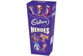 Cadbury Heroes (185g) Miniature Chocolates Selection Box