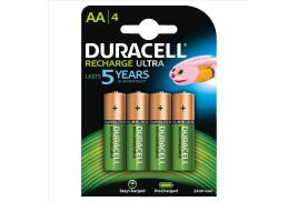 Duracell Stay Charged Batteries AA 1.2V 1950mAh Pack of 4 Batteries