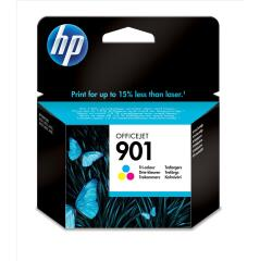 HP 901 (Yield: 360 Pages) Cyan/Magenta/Yellow Ink Cartridge Image