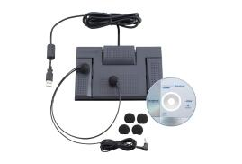 Olympus AS-2400 Digital Transcription Kit (Includes RS-28 Footswitch, E-102 Headset and DSS Software)