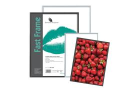 5 Star Facilities Photo Frame (A4) with Styrene Front Silver