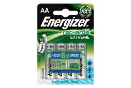 Energizer Accu Recharge Power Plus HR6 (AA) Rechargeable NiMH Battery (Pack of 4)