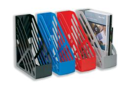 5 Star Office Magazine Rack File Foolscap Grey