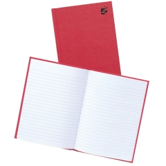 5 Star Office Manuscript Book Casebound Ruled 192 Pages A5 [Pack 5] Image