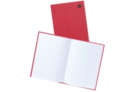 5 Star Office Manuscript Book Casebound Ruled 192 Pages A5 [Pack 5]