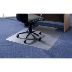 5 Star Office Chair Mat Hard Floor Protection PVC W900xD1200mm Clear/Transparent Image