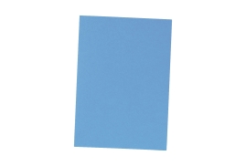 5 Star Office (A4) Binding Covers 240gsm Leathergrain Blue (Pack of 100)