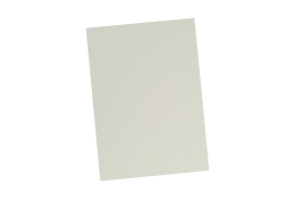 5 Star Office (A4) Binding Covers 240gsm Leathergrain Ivory [Pack 100]