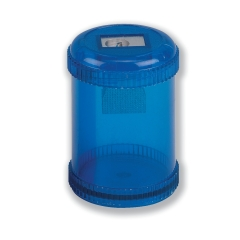 5 Star Pencil Sharpener Plastic Canister Max. Diameter 8mm Single Hole Coloured Image