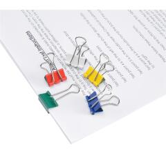 5 Star Office Foldback Clips 19mm Assorted [Pack 12] Image