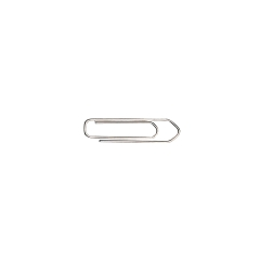 5 Star Office Paperclips No Tear Large Length 27mm [Pack 10x100] Image