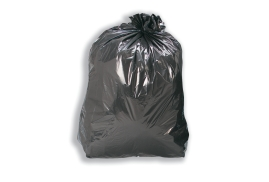 5 Star Facilities (110 L Capacity) Compactor Bin Liners W430xD340xH950mm 30 Micron Black (Pack 200)