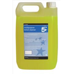 5 Star Facilities (5 Litre) Concentrated Multipurpose Cleaner (Lemon) Image
