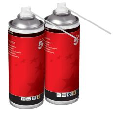 5 Star Office (400ml) Air Duster [Pack of 2] Image