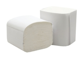 5 Star Facilities Bulk Pack Folded Toilet Tissue Two-ply 250 Sheets White (Pack of 36)