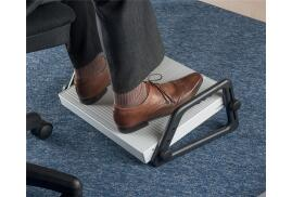 5 Star Office Relax Footrest with Dictation Compartment Platform 450x350mm Compartment 220x120x20mm Grey