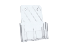 5 Star Office (A4) Literature Holder Slanted (Clear)