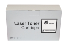 5 Star Value Remanufactured Laser Toner Cartridge (Yield 1600 Pages) Black for HP Printers