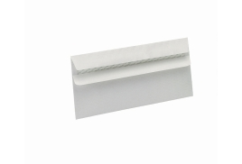 5 Star Eco (DL) Envelopes Recycled Wallet Self Seal Window 90g/m2 White (Pack of 500)