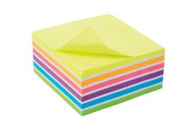 5 Star Office (76x127mm) Re-move Sticky Notes 6 Neon/Pastel Colours
