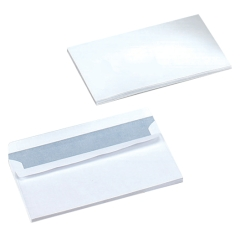 5 Star Office (DL) Envelopes Wallet Self Seal 90gsm White [Pack of 1000] Image