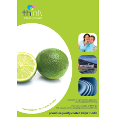 Think A4 Photo Paper - Gloss, 160gsm (Medium Weight), 20 Sheets Image
