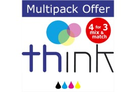 Ink Multipack for Epson 27XL B(XXL)CMY