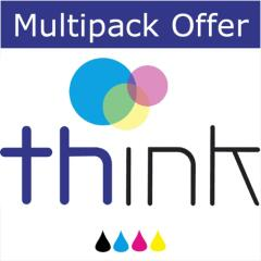 Think Alternative High Capacity Multipack - Brother compatible LC3219XL Black, Cyan, Magenta & Yello Image