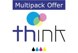 Think Compatible Multipack of Epson Photo R2400 Ink Cartridges