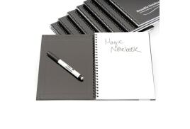 Magic Whiteboard (A5) Plain Magic Notebook with Pen