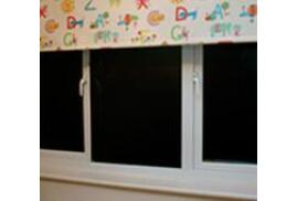 Magic Whiteboard: Magic Blackout Blind 10 x A1 Perforated Sheets on a Roll