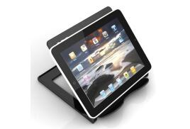 Deflecto Hands-Free Tablet Stand (Black)