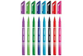 STABILO SENSOR (0.3mm) Fineliner Pens (Bright Assorted Colours) Pack of 4 Pen