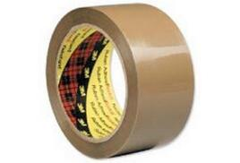 Robinson Young Packaging Tape 48 mm x 66 m Brown (Pack of 6)