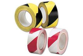 Robinson Young Hazard Tape Soft PVC Internal use 50 mm x 33 m (Black and Yellow)