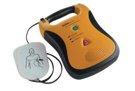 Wallace Cameron Lifeline AED Defibrillator Semi-automatic Portable (Black and Yellow)
