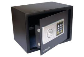 Cathedral Namesafe Electronic Digital Safe (Black/Silver)