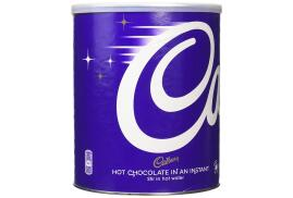 Cadbury (2kg) Chocolate Break Instant Hot Chocolate in a Resealable Tin