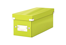 Leitz Click And Store CD Storage Box (Green)