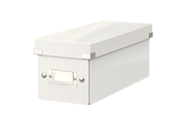 Leitz Click And Store CD Storage Box (White)
