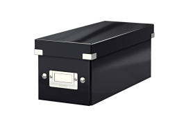 Leitz Click And Store CD Storage Box (Black)