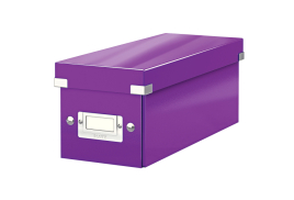 Leitz Click And Store CD Storage Box (Purple)